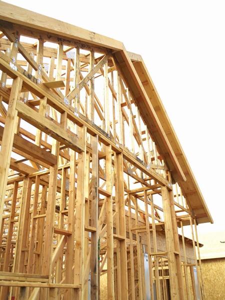 Пример строительство коттеджей
